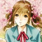 桜と少女 -Illustration-